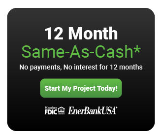 12 Month Same-As-Cash Financing Option