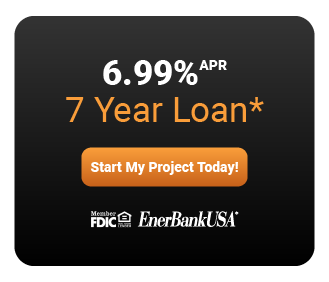 6.99% APR on a 7 year loan. Start my project today